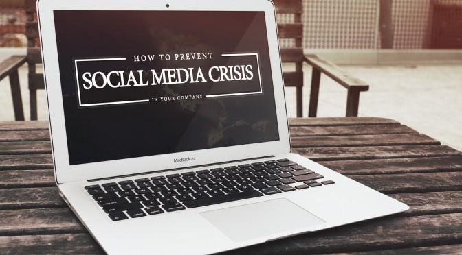 Cómo abordar una crisis social media