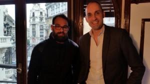 Ruben de Coag y Jorge de La Huerta Digital