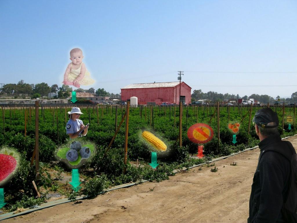 Realidad aumentada y agricultura