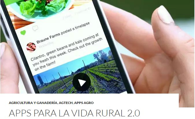 TOP1 - APPs para una Vida Rural 2.0