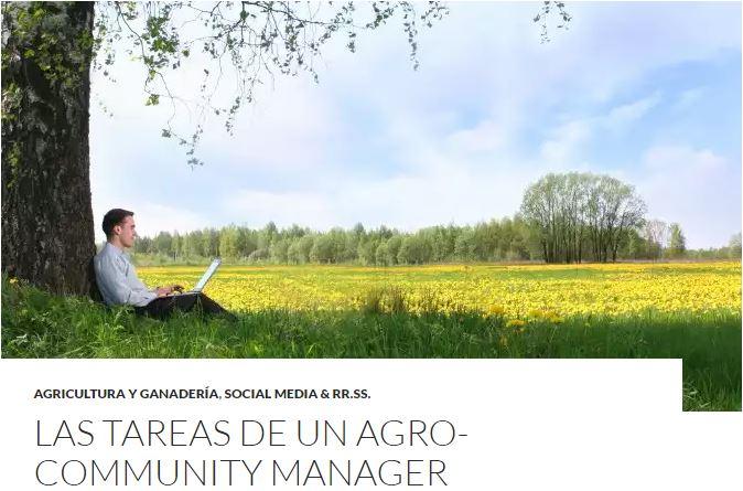 TOP2 - Las tareas de un Agro-Community Manager