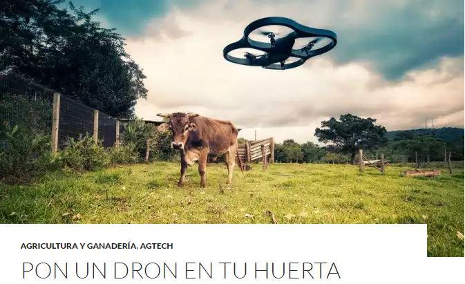 TOP3 - Pon un dron en tu huerta