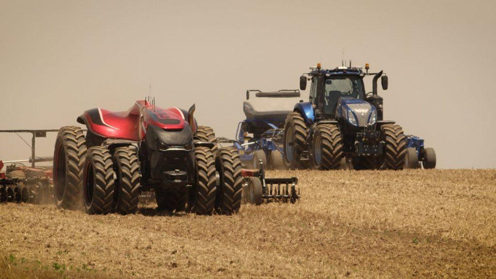 Tractores autónomos de CNH Industrial