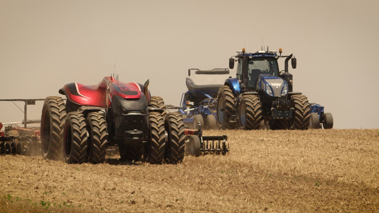 Tractores autónomos: ¿te gusta conducir?