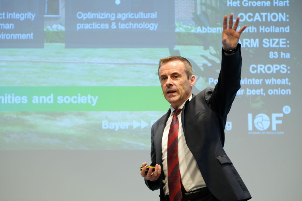 Liam Condon, Presidente de Crop Science de Bayer