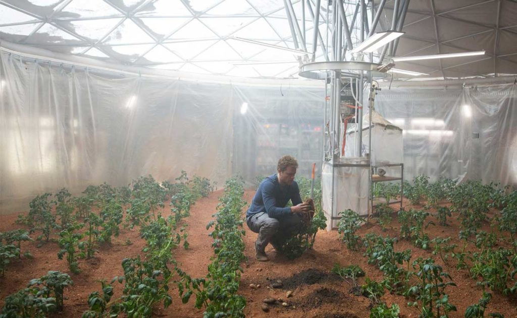 the martian - Agricultura Espacial