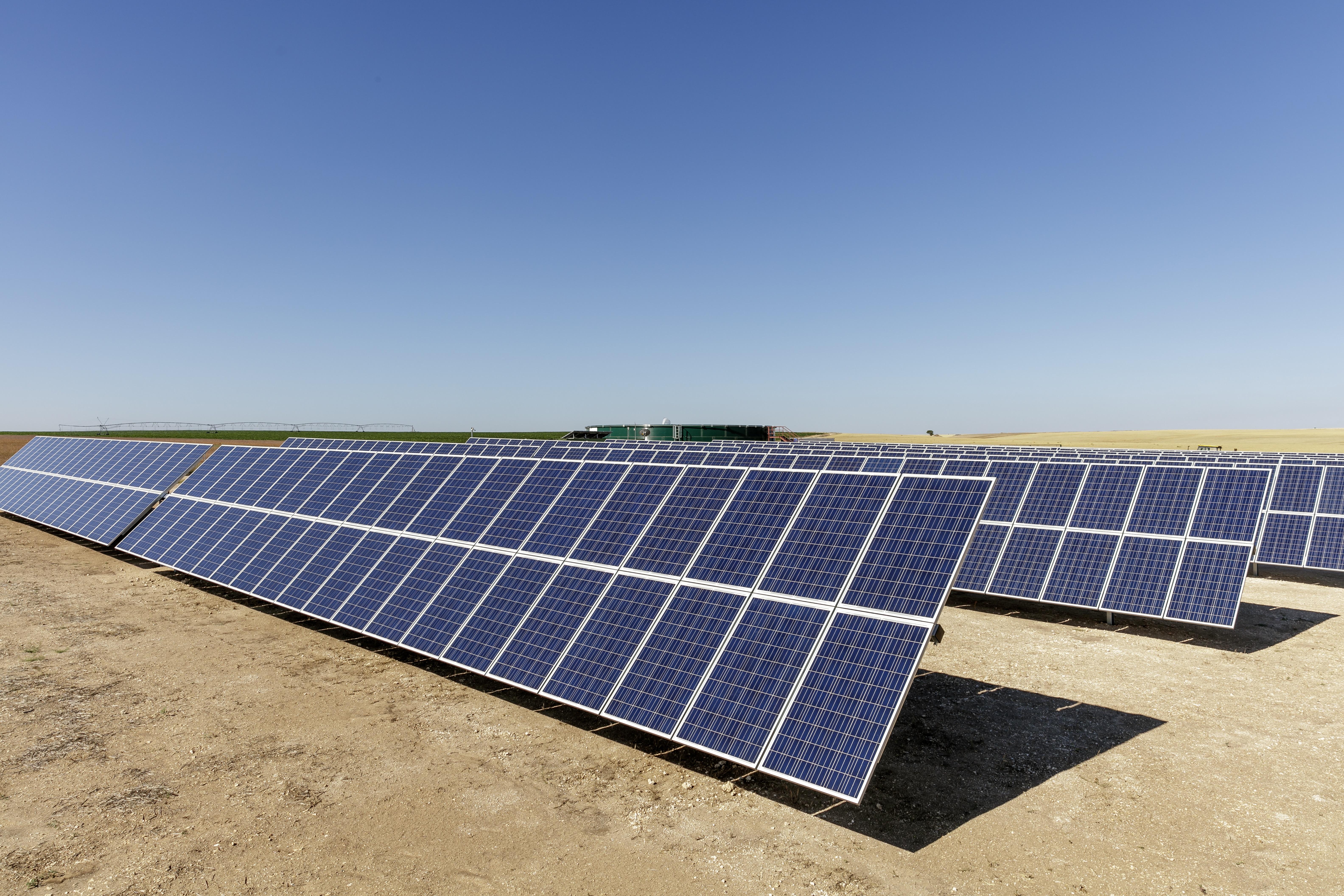 energía solar fotovoltaica y la agricultura de regadío
