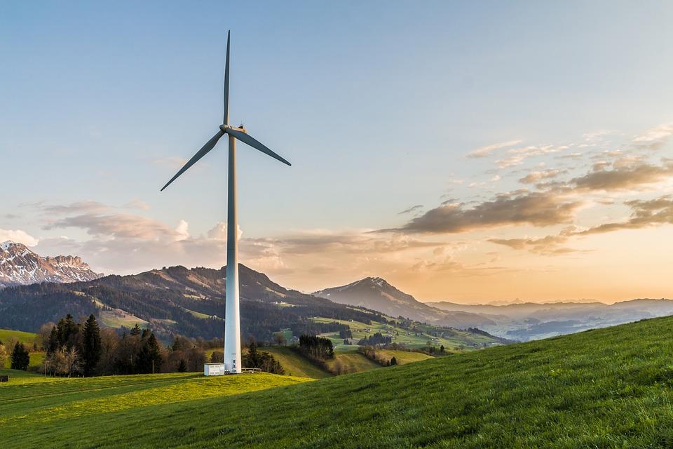 energía eólica y regadío